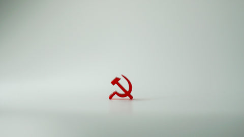 Miniature hammer and sickle