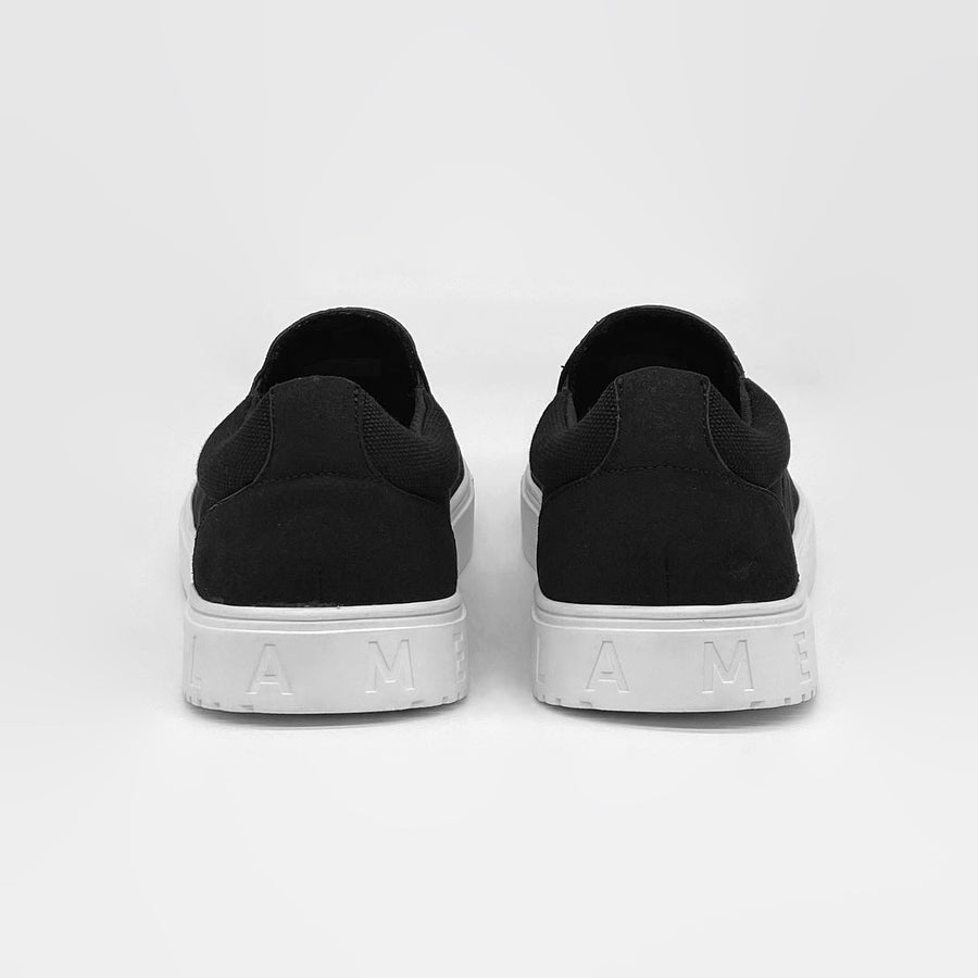 SLIP-ON black classics FLAMES edition