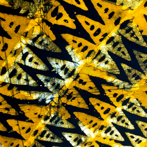 Lightning Batik Headwrap