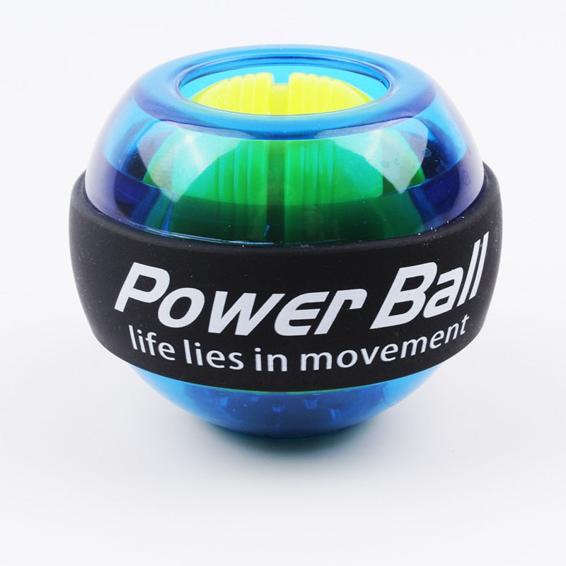 Rainbow LED Muscle Power Ball Wrist Ball Trainer Relax Gyroscope PowerBall - Dropshipping