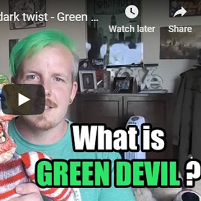Green Devil: Now on Youtube!