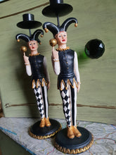 Load image into Gallery viewer, Jester Candlestick Holders