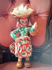 Maria Helena - Portuguese doll - Chicken lady