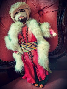 Vintage Doll - Sikh man with Kirpan