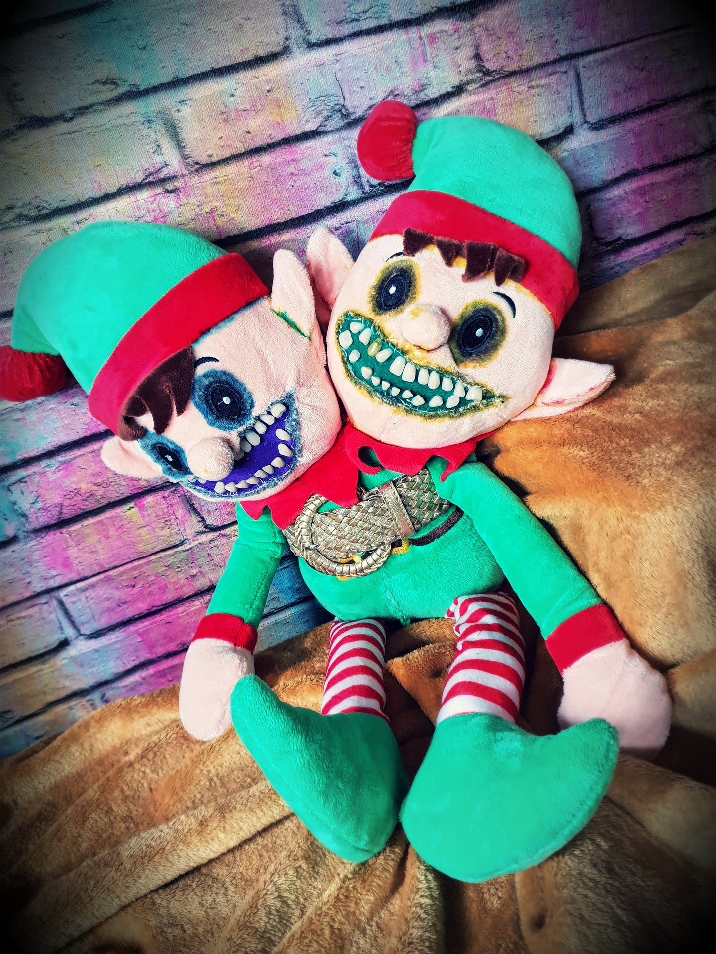 Naughty Elf - Conjoined Twins
