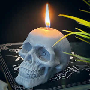 Vegan Skull Candle