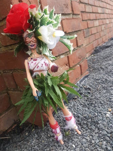 Feral Post Apocalyptic Barbie doll