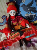 Composition bisque china doll