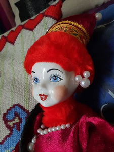 Vintage Russian white porcelain doll