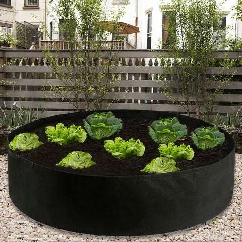 Portable Raised Fabric Garden Beds