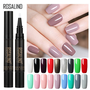 Rosalind 5ml Nail Gel Polish Nail Brush Pen Nails Gel Lacquer