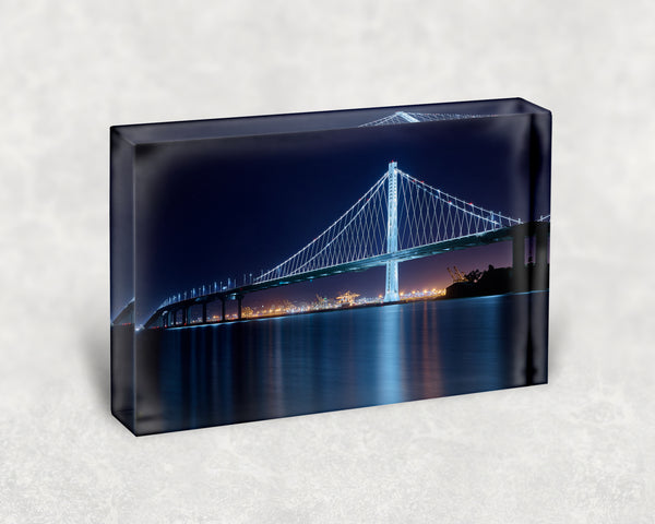 Bay Bridge Beauty Acrylic Block