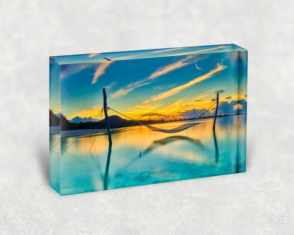 Sunset Dreams Acrylic Block