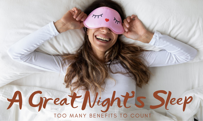 A Great Night's Sleep: Too Many Benefits To Count