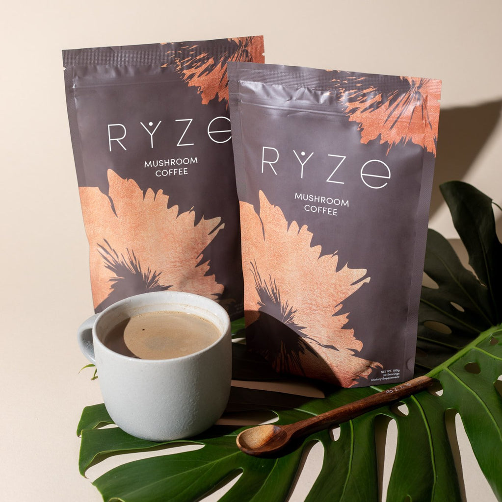 Double RYZE Mushroom Coffee (60 servings)
