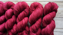 Load image into Gallery viewer, Raspberry Red - Merino Sock