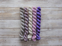 Load image into Gallery viewer, Sweetheart Mini Skein Set - Merino Sock