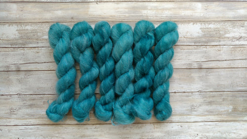 Teal - Mohair Silk Lace