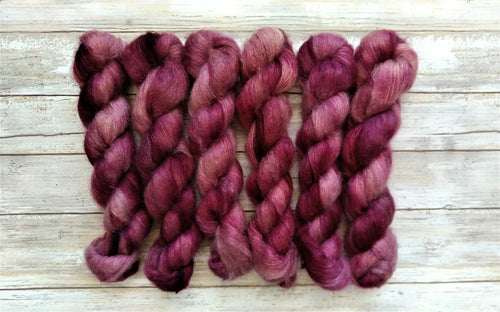 Plum - Mohair Silk Lace