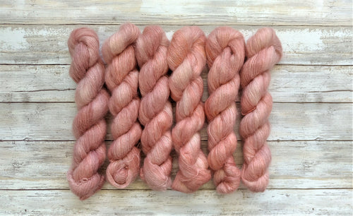 Rose Gold - Mohair Silk Lace