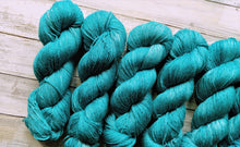 Load image into Gallery viewer, Teal - Silk Linen Fingering