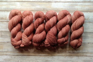 Rose Gold - Bfl Fingering 2-Ply (Nonsuperwash)