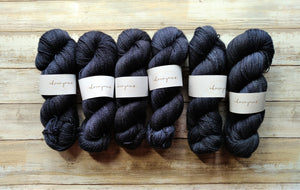 Dark Like My Soul - Bfl Fingering 2-Ply (Nonsuperwash)