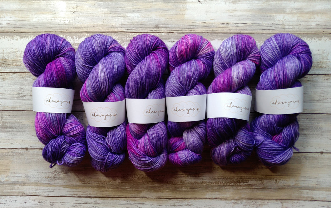 Purple Haze - Merino Sock