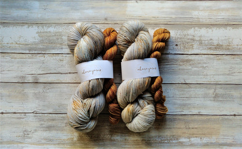 Rusty Bucket & Moccachino - Sock Kit (Merino Sock)
