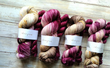 Load image into Gallery viewer, Mauve Sunset & Plum - Sock Kit (Merino Sock)