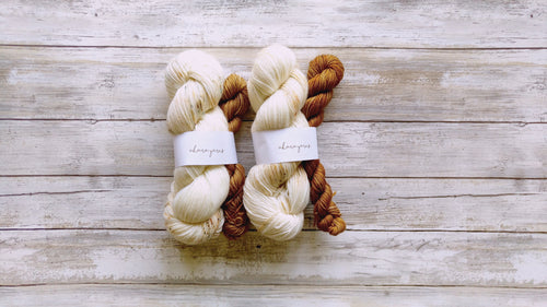 Toasted Marshmallow & Moccachino - Sock Kit (Merino Sock)