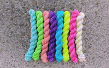 Load image into Gallery viewer, Neon Mini Skein Set