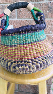 Small Pot - Big Blue Moma Basket