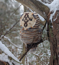 Load image into Gallery viewer, Peedie Owl - Akara Yarns and Fiona Knits (Pattern Included)