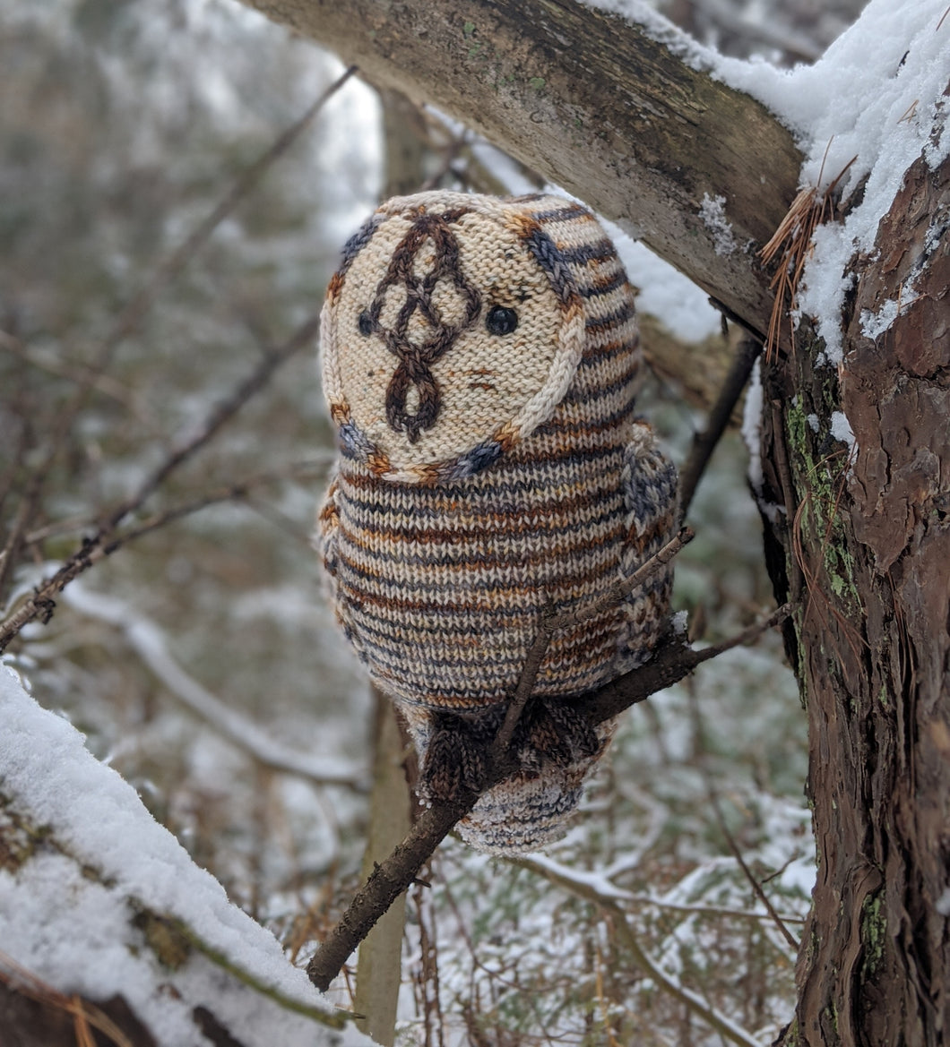 Peedie Owl - Akara Yarns and Fiona Knits (Pattern Included)