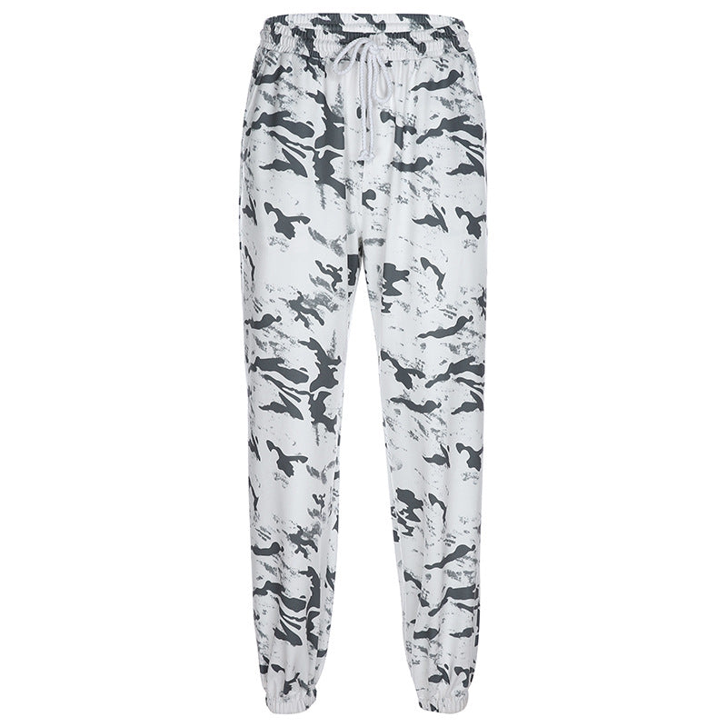 Grey Tie Dye Lounge Pants