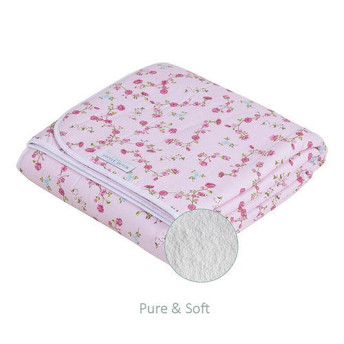 Little Dutch - Decke Wiegendecke 70x100 cm pure & soft pink