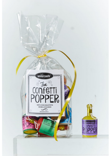 Wondercandle - Konfetti Popper Set