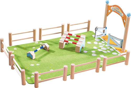 Haba Little Friends - Holz Spielset Springturnier