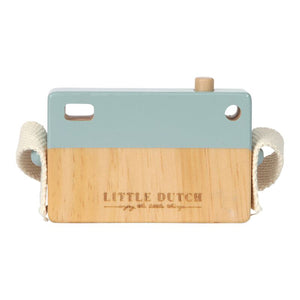 Little Dutch Holz Kamera Spielkamera blau 4436