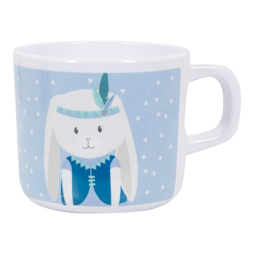 Little Dutch Melamin Becher Tasse 6,5 cm Hase blau 4905