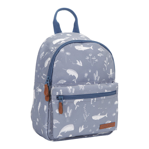 Little Dutch - Kinder Rucksack Ocean Blue