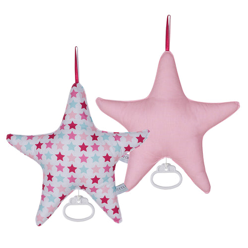 Little Dutch Spieluhr Stern mixed stars pink 5262