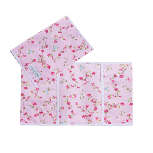 Little Dutch Mutterpass Stoff Hülle Blumen pink blossom 6101