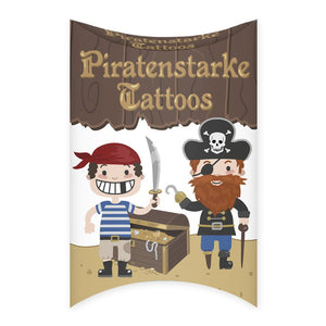 Grätz Verlag - Kinder Tattoos Piraten
