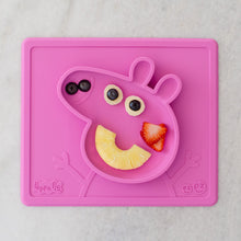 Laden Sie das Bild in den Galerie-Viewer, ezpz - Peppa Pig Mat Silikon Teller pink Sonderedition