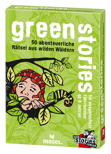 Moses Verlag - Black Stories Junior, Green Stories