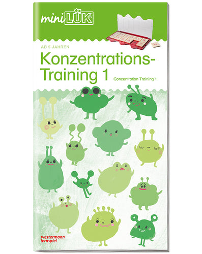 miniLÜK - Konzentrations-Training 1 Übungsheft