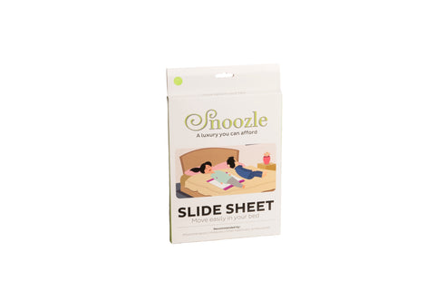 Snoozle slide sheet packaging