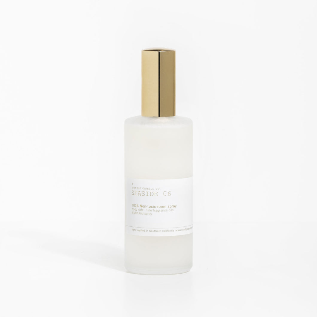 Seaside 06 - Sea Salt + Jasmine + Orchid Room Spray